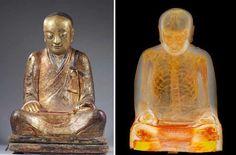 Parecía Una Escultura Normal, Pero El Secreto Que Reveló Te Dejará Con La Boca Abierta - Lo que parecía seruna estatua de Buda tradicional que data del siglo 11 o 12, recientemente reveló algo más. Una tomografía computarizada y endoscopia realizadas por el Museo Drents en Holanda, mostró el secreto delantiguo relicario …  Encierra completamente los restos momificados de un m... #¡OMD!=OhMiDios=OhMyGod(perohablamosespañol)  http://www.vivavive.com/parec