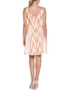 Eva Franco Bisous Cool Ikat Dress