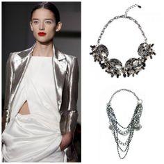 Metallic, Smoke, Style Inspiration, Chain, Silver, Shopping, Jewelry, Fashion, En Vogue