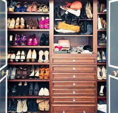 The Best Celebrity Closets on The Coveteur via @WhoWhatWear