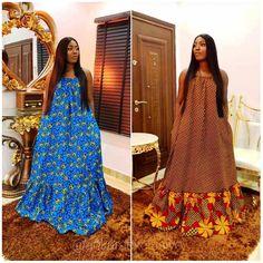 Ankara Long Gown Styles, Latest African Fashion Dresses, African Dresses For Women, African Print Fashion, Ankara Gowns, Maxi Gowns, Mode Kimono, Pink Evening Dress, Muslim Fashion