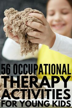 Learning Through Play: 56 Occupational Therapy Activities for Kids Activities For Autistic Children, Fine Motor Activities For Kids, Autism Activities, Physical Activities, Learning Through Play, Fun Learning, Ot Therapy, Therapy Games, Therapy Ideas
