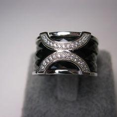 Bague anneaux en argent