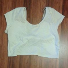 Crop top Charlotte russe crop top  Worn once  Small stain,not noticable  Sz large Tops Crop Tops