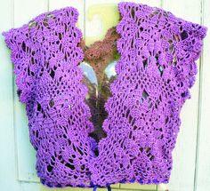 #Bolero  crochet jacket #2dayslook #crochetfashionjacket   www.2dayslook.com