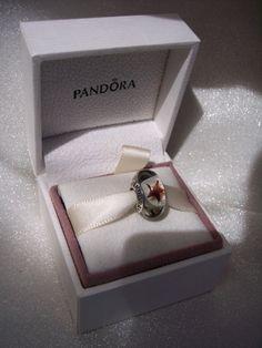 Authentic Pandora Maroon Stars Murano Bracelet by JEWELSELAGANT, $25.00
