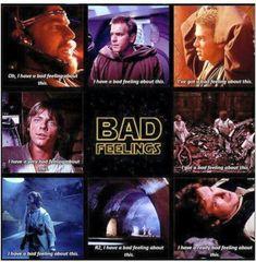 Star Wars Memes | Bad feelings