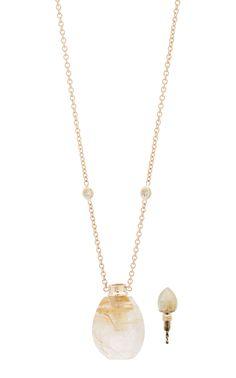 Jacquie Aiche Opal & Rutilated Quartz Drop Earrings with Diamonds Aa4Zj3TQL