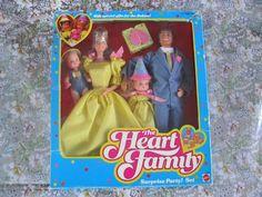 Mattel Heart Family Surprise Party Set 1985 NRFB    eBay