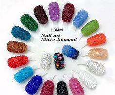 2016 New 1440Pcs Micro Diamond DIY Rhinestones Crystal Flat Back Non Hotfix Rhinestones Need Glue Nail Art Decoration Cosmetics
