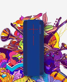 20 hrs of non-stop music and connectivity up to 100 feet! MEGABOOM blasts freakishly amazing sound – wherever you take it. Non Stop Music, Bluetooth Speakers, Ears, Big, Ear