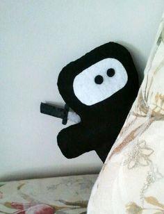 Ninja Felt Plush by heartfeltbymsmegas on Etsy, $14.00