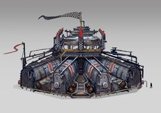 ArtStation - Coliseum (Borderlands 2), Monica Grue