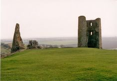 Hadleigh Castle (remains) by Steven Muster - near to Hadleigh, Essex, Great Britain