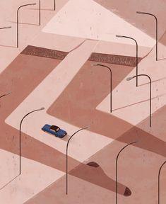 trip to East Europe,Emiliano Ponzi illustration