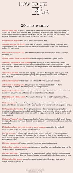 20 Creative Ideas Fo