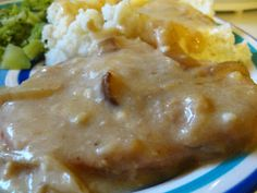 Sour Cream Pork Chops | Above Hoarded Gold