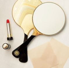 The Omokage Gold-Leaf Mirror combines the timeless art of gold-leafing with a classic beauty accessory. Receive the Omokage Gold-Leaf Mirror as a gift with any order over $125 at tatcha.com with code MIRROR at checkout. While supplies last.