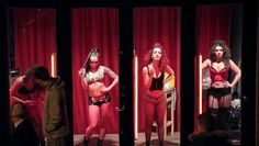 A dance number shocks the red light district of Amsterdam - 7SUR7.be