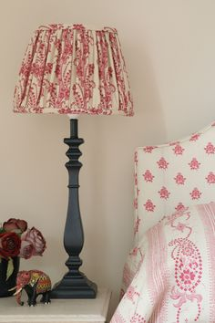 Patterned Lampshades Charming Patterned Fabric Lamp Shades From Carolina Irving & Penny