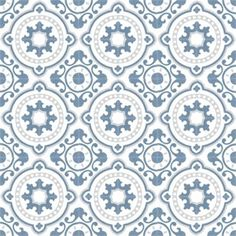 Moroccan Cement tiles are durable, easy to clean and naturally insulating. Cement tiles gives that beautiful ethnic edge on your home Tiles, Flooring, Medallion Wallpaper, Tile Patterns, Cement Tile, Vintage Interiors, Ornaments Diy, Beauty Kitchens, Pattern Wallpaper
