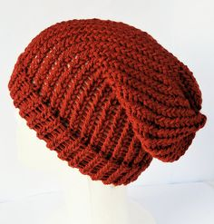 Check out this item in my Etsy shop https://www.etsy.com/uk/listing/532953201/orange-slouchy-hat-slouchy-beanie-knit
