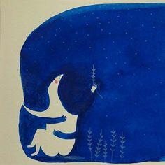 """Mariona Tolosa """"tenía miedo del azul"""""""