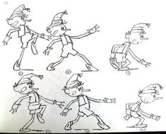 Буратино крадётся. Retro Cartoons, Old Cartoons, Cartoon Pics, Cartoon Styles, Character Creation, Character Design, Animation Reference, Color Shapes, Colours