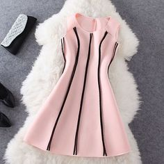 ImageFind images and videos about dress, fashion and clothes on We Heart It - the app to get lost in what you love. Girls Fashion Clothes, Teen Fashion Outfits, Girl Fashion, Girl Outfits, Fashion Dresses, Stylish Dresses For Girls, Dresses Kids Girl, Dresses For Teens, Cute Casual Outfits