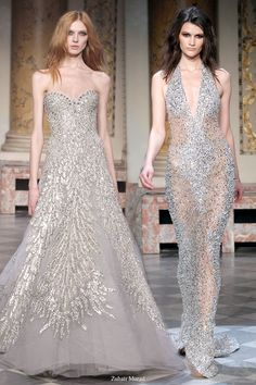 glamourous dresses by Zuhair Murad