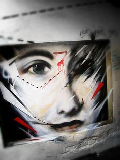 L7M http://www.widewalls.ch/artist/l7m/ #street #art