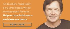 Our Parkinson's Place: Tomorrow is #GivingTuesday for Parkinson's Disease...