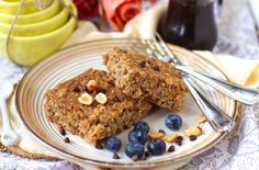 Healthy Peanut Butter Baked Oatmeal - Desserts with Benefits
