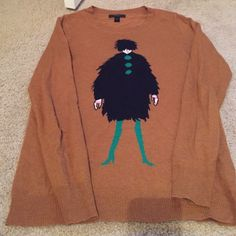 J Crew sweater J.Crew sweater // Purchased at J.Crew in Fresno CA // size XS // has been worn many times, it is balling up under arm area (see last photo for visual) J. Crew Sweaters Crew & Scoop Necks