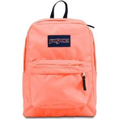 13178b05b Amazon.com: JANSPORT SUPERBREAK BACKPACK SCHOOL BAG- Coral Peaches Back To  School Backpacks