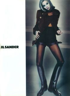 ☆ Christy Turlington | Photography by Nick Knight | For Jil Sander Campaign | Fall 1992 ☆