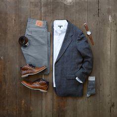 "496 Me gusta, 9 comentarios - Seth Hartman / #mycreativelook (@mycreativelook) en Instagram: ""Classic look for Sunday's Best. #mycreativelook ––––––––––––––––––––––– Shirt: @expressmen Vintage…"""