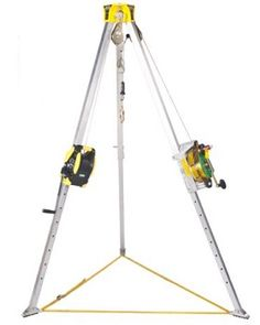 MSA Confined Space Entry Kit (Includes Workman Tripod, Lynx Rescuer, Winch, Mounting Bracket, Pulley And Carabiner) Space Systems, Confined Space, Home Safety, Mounting Brackets, Lynx, Pulley, Tripod, Kit, Fall