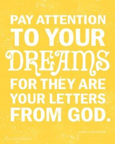 pay attention...