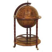 Found it at Wayfair - Antique Reproduction Sixteenth-Century Italian Old World Globe Mini Bar