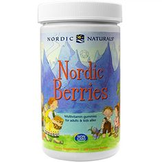 Nordic Naturals Nordic Berries Multivitamin Treats for Adults and Kids 200 Count FFP *** Find out more about the great product at the image link. (This is an affiliate link) Vitamins For Kids, Daily Vitamins, Supplements For Women, Natural Supplements, Protein Supplements, Chewable Vitamins, Best Multivitamin, New Nordic, Fish Oil