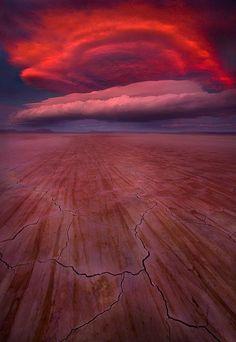 Fireball, Alvord Desert, Oregon