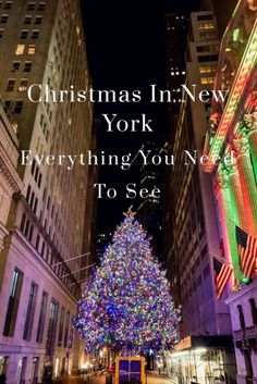 Christmas In New York Everything You Must See