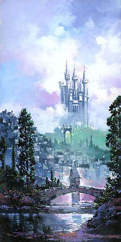 Cinderella - Colors of Morning - Rodel Gonzalez - World-Wide-Art.com