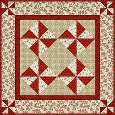 Nice small quilt free pattern...Peppermints and Pinwheels.