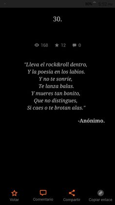 El Rock And Roll, Motivational Phrases, Wattpad, Love, Cool Stuff, Movie Posters, Frases, Book Quotes, Bts Backgrounds