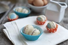 French macarons are meringue-like almond cookies that are filled with jams, buttercream or ganache. They come in several different flavors, and macarons happen to be the perfect