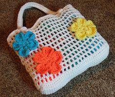 How To #Crochet Summer Beach Bag #TUTORIAL DIY Handbag Free projects