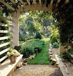 Lovely Little Garden Nook