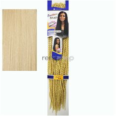 Thu Sep 10, 2015 - #7: Freetress Senegalese Twist Small - Color 613 - Synthetic Braiding